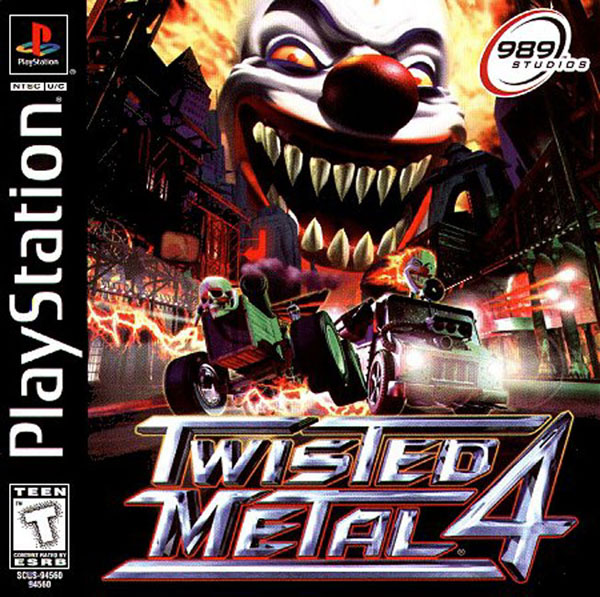 Twisted Metal 4 [U] Front Cover